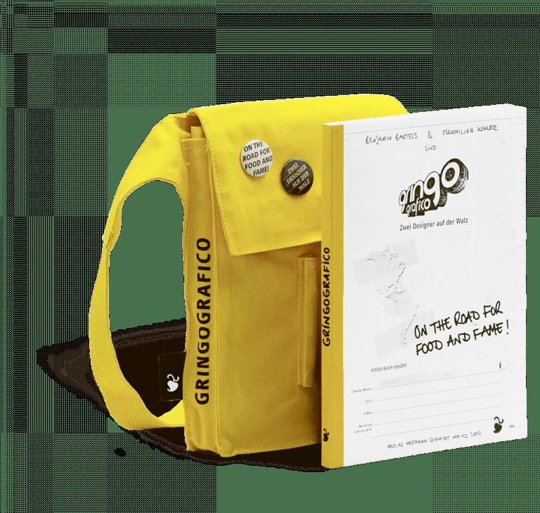Cover und Rucksack zu Gringografico