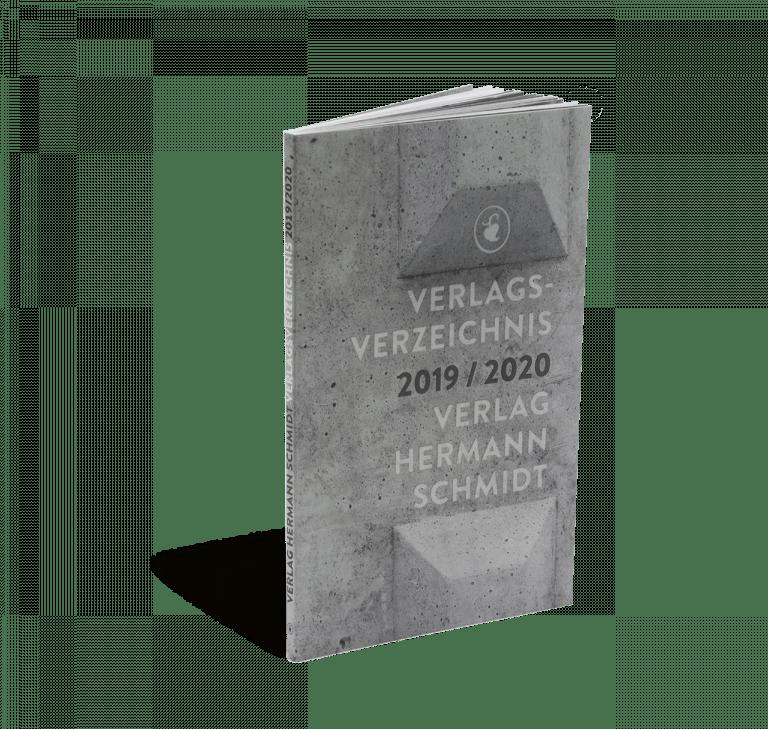 Cover vom Verlagsverzeichnis 2019/2020