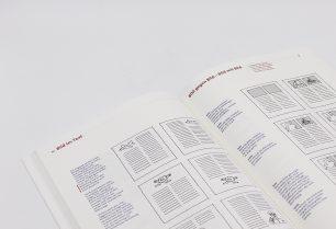 Gestaltung von Erste Hilfe in Typografie