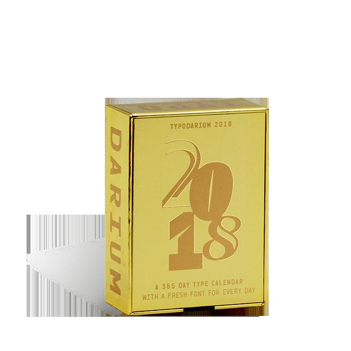 Produktabbildung zum Kalender »Typodarium 2018«