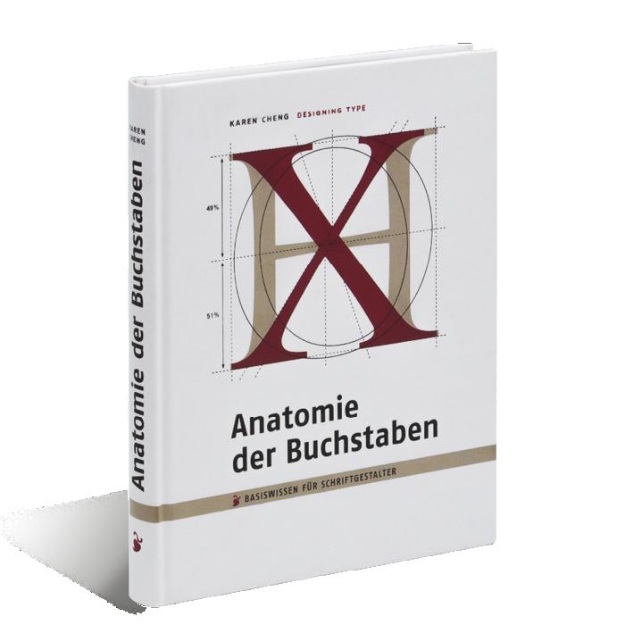 Cheng: Anatomie der Buchstaben | Verlag Hermann Schmidt