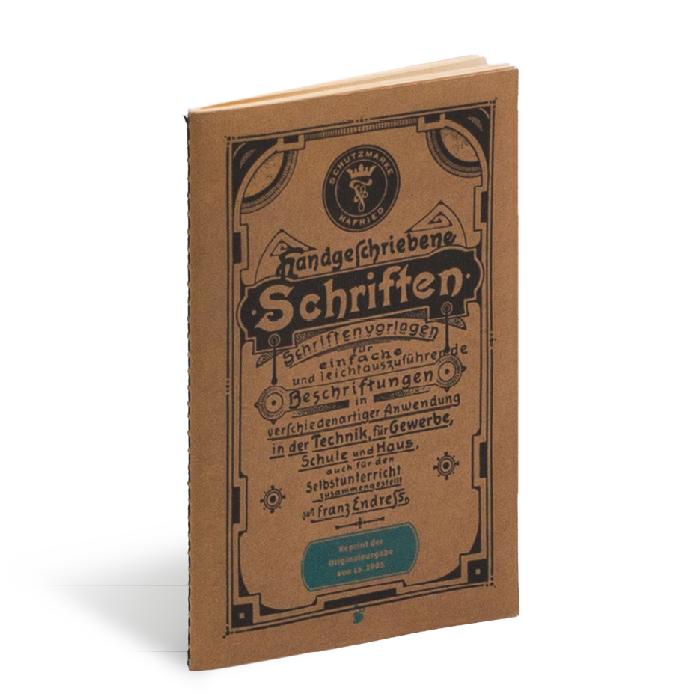 Produktabbildung zu »Handgeschriebene Schriften« von Franz Endreß
