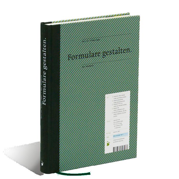 Produktabbildung zu »Formulare gestalten« von Borries Schwesinger