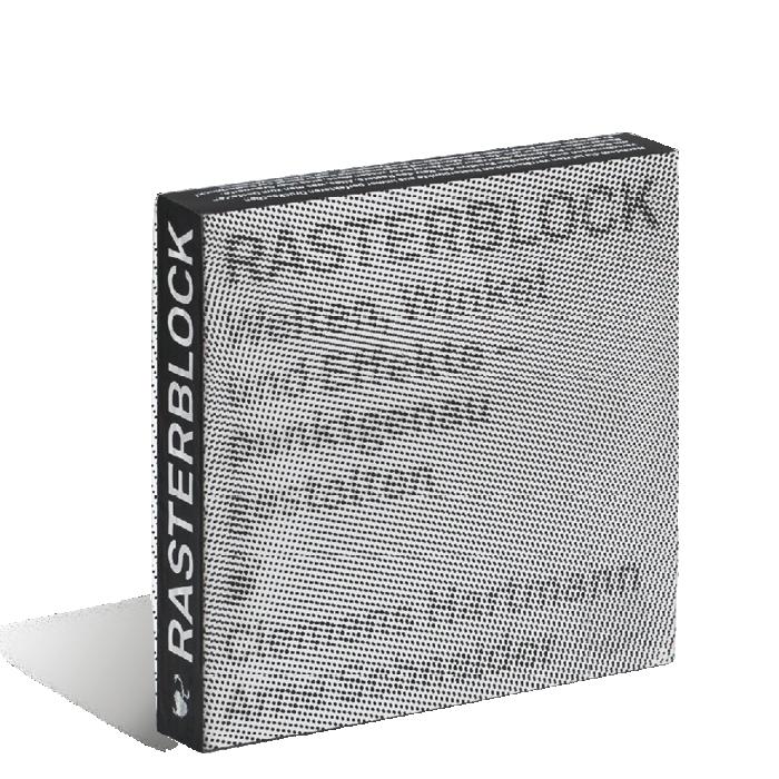 Produktabbildung zu »Rasterblock« von Arne Schneider und Clemens Hartmann