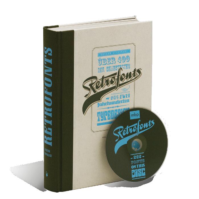 Produktabbildung zu »Retrofonts« von Gregor Stawinski