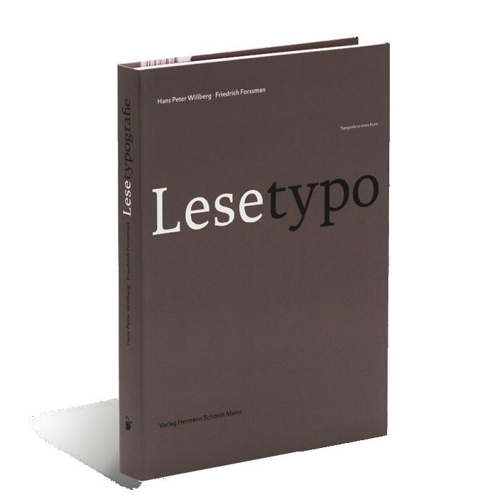 Produktabbildung zu »Lesetypografie« Friedrich Forssman und Hans Peter Willberg