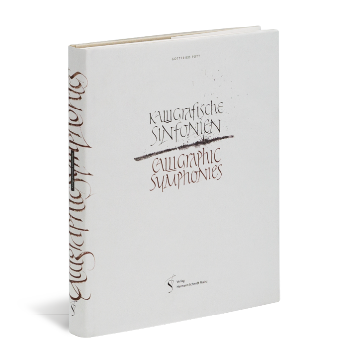 Produktabbildung zu »Kalligrafische Sinfonien« von Gottfried Pott