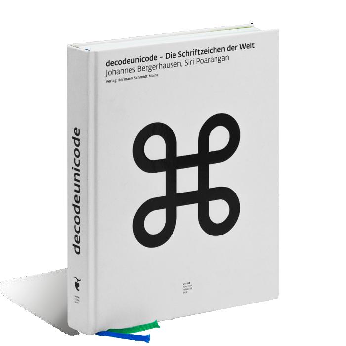 Produktabbildung zu »decodeunicode« von Siri Poarangan und Johannes Bergerhausen
