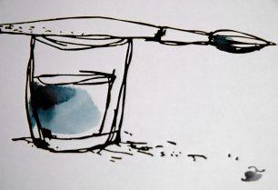 Detailansicht von »Wasserfarbe für Gestalter«