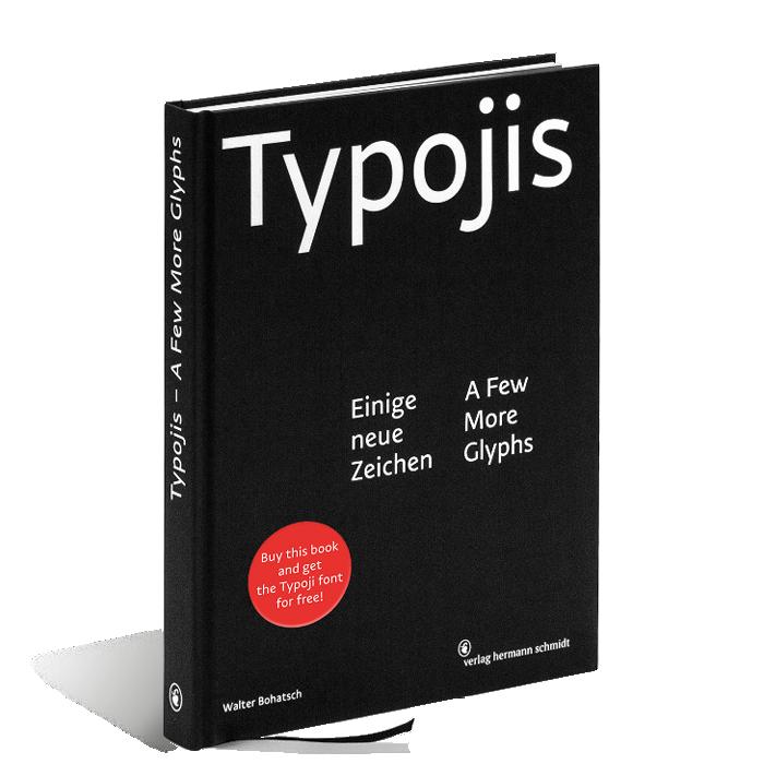 Produktabbildung zu »Typojis« von Walter Bohatsch