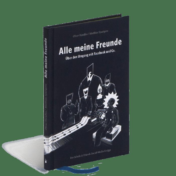 Produktabbildung zu »Alle meine Freunde« von Matthias Spaetgens und Oliver Handlos