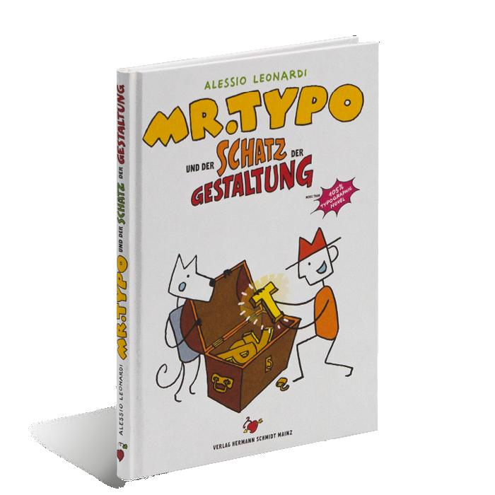 Produktabbildung zu »Mr. Typo und der Schatz der Gestaltung« von Alessio Leonardi