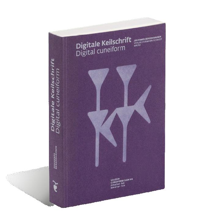 Produktabbildung zu »Digitale Keilschrift« von Johannes Bergerhausen