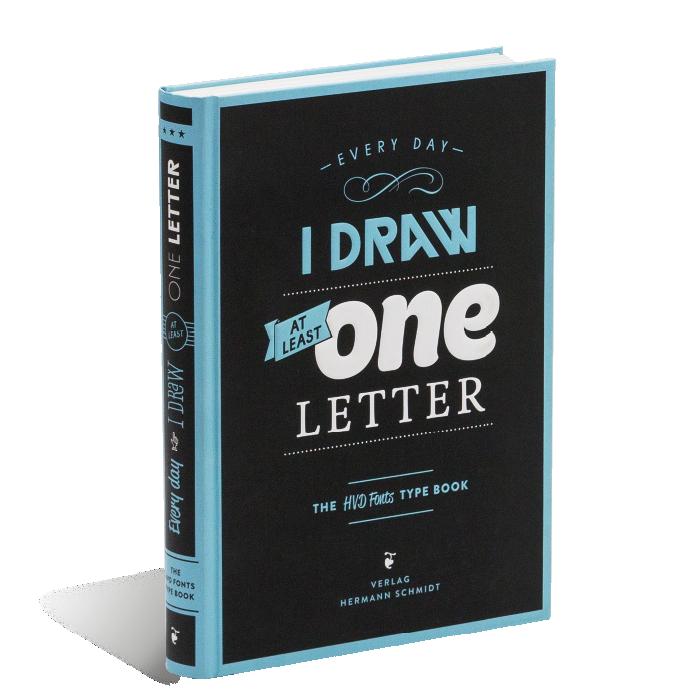 Produktabbildung zu »Every Day I Draw At Least One Letter« von Hannes von Döhren