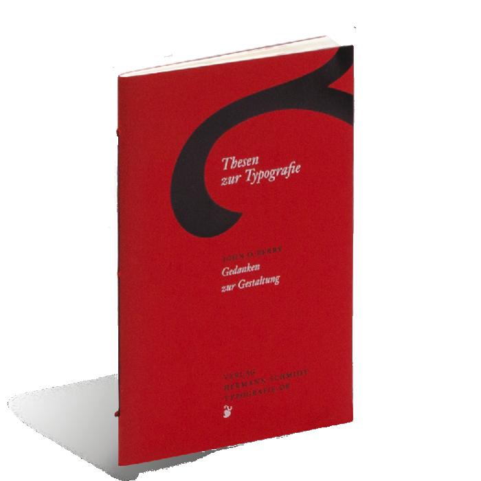 Produktabbildung zu »Thesen zur Typografie« von John D. Berry
