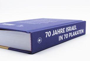 Gestaltung von 70 Jahre Israel in 70 Plakaten