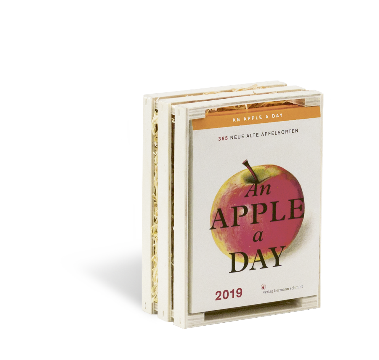Cover vom An Apple A Day Kalender 2019