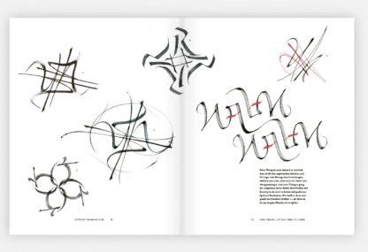 Beispielseite aus Kalligrafie Meisterklasse
