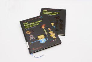 Gestaltung von Das geheime Leben der Bücher