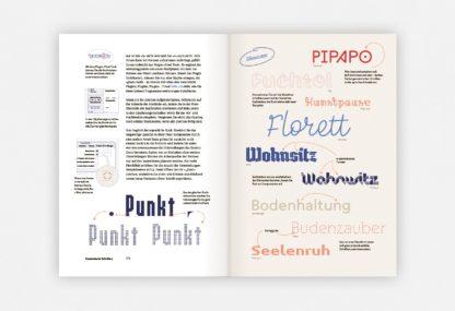 Beispielseite aus Making Fonts