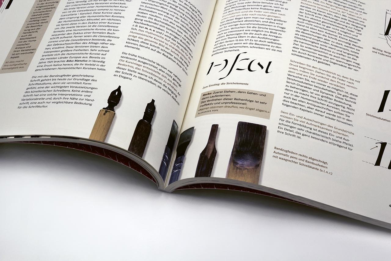 Gestaltung von Schön schreiben können