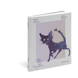 Cover vom Notizbuch Gouache