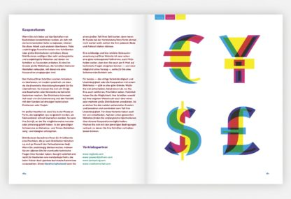 Beispielseite aus Color and Type