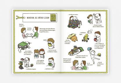 Beispielseite aus Die Buchhandlung der Wünsche