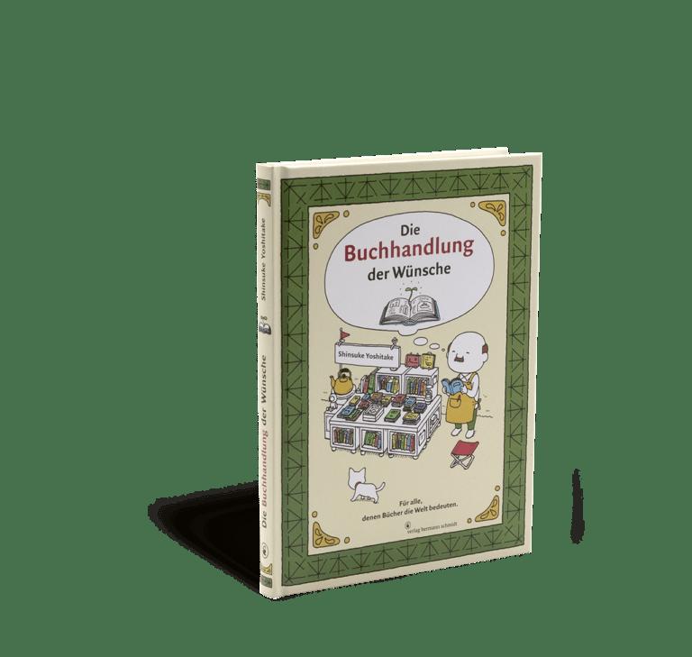 Cover von Die Buchhandlung der Wünsche