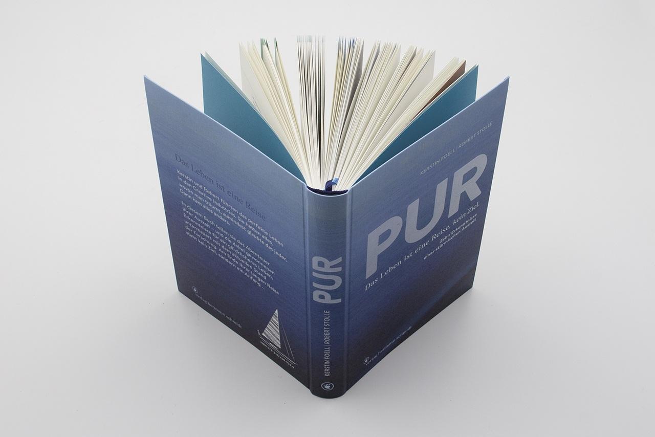 Detailansicht der Gestaltung von PUR