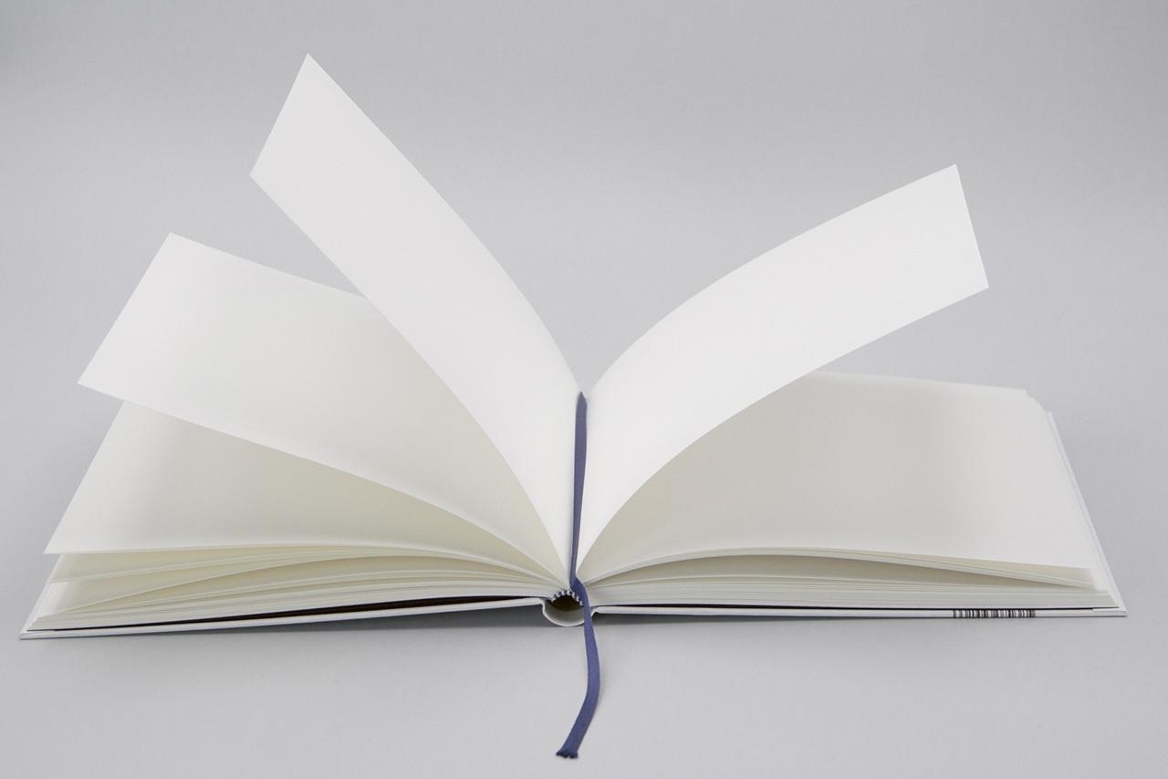 Innenansicht vom Notizbuch Gouache