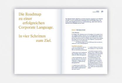 Beispielseite von Corporate Language
