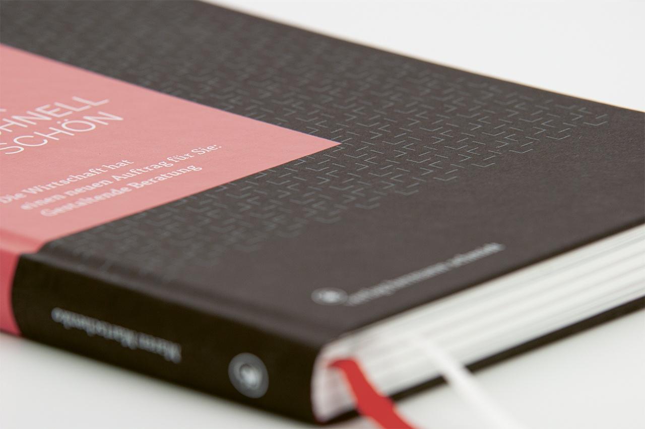 Detailansicht der Gestaltung von Design ist mehr als schnell mal schön