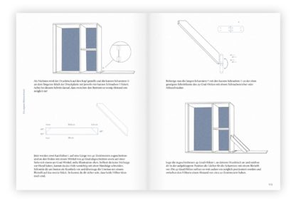 Beispielseite aus dem Buch »Siebdruck zu Hause«