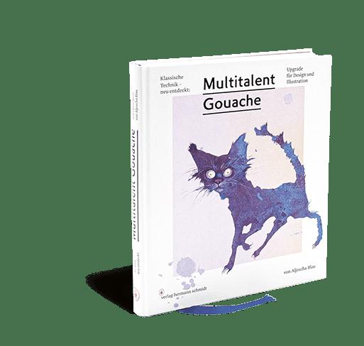 Produktabbildung vom Buch »Multitalent Gouache«