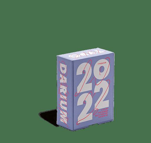 Cover vom Typodarium Kalender 2022