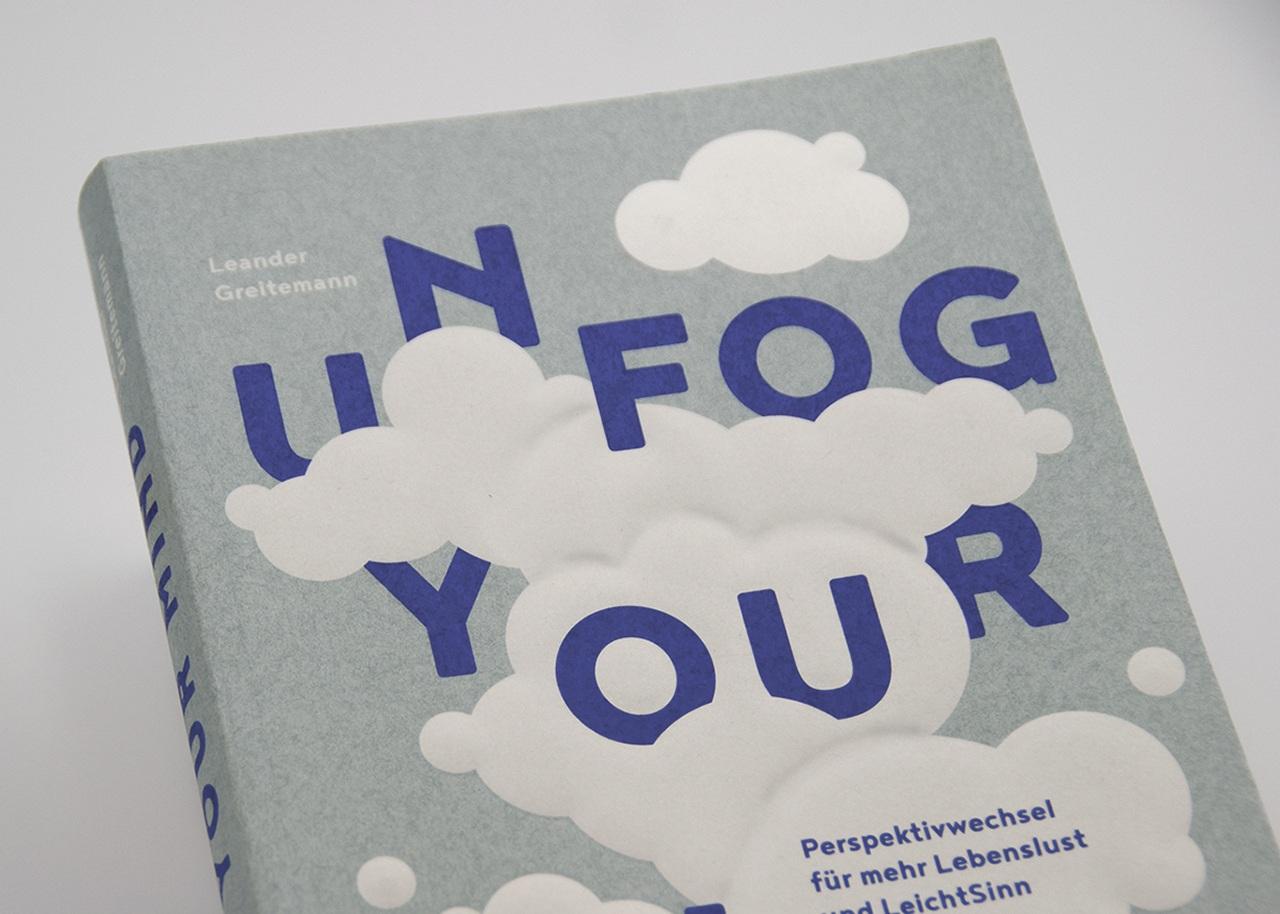 Detailansicht der Gestaltung von Unfog Your Mind