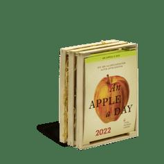 Produktbild An Apple A Day Kalender 2022