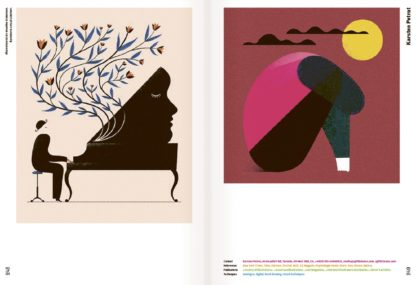 Illustrationen aus Freistil 7, herausgegeben von Raban Ruddigkeit