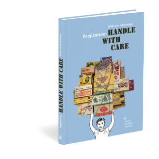 Cover von Pappkarton, Handle with Care