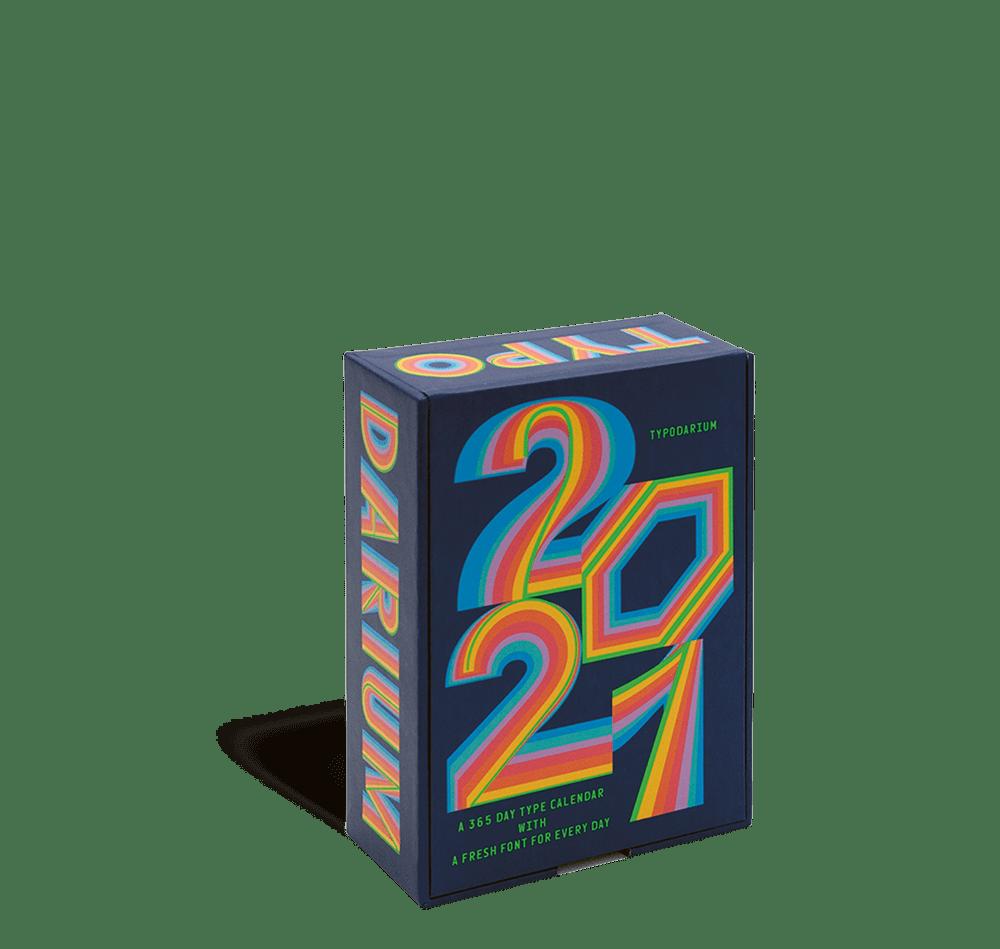 Cover Typodarium Kalender 2021