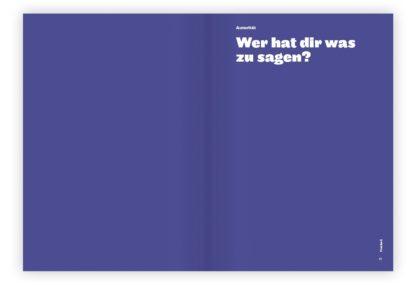 Beispielseite aus dem Buch »worklove«.