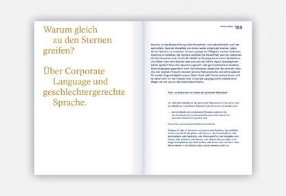 Beispielseiten aus Corporate Language, das Praxisbuch